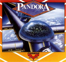 Box cover for Pandora on the Commodore 64.