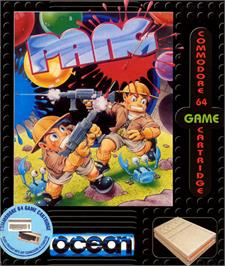 Box cover for Pang on the Commodore 64.