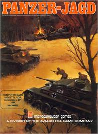 Box cover for Panzer-Jagd on the Commodore 64.