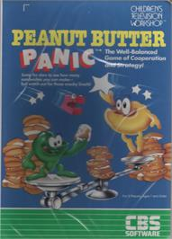 Box cover for Peanut Butter Panic on the Commodore 64.