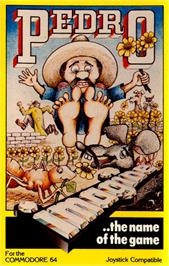 Box cover for Pedro on the Commodore 64.