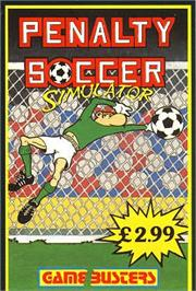 Box cover for Penalty Soccer on the Commodore 64.
