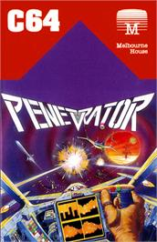 Box cover for Penetrator on the Commodore 64.