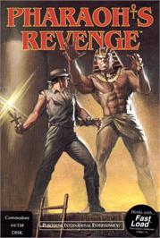 Box cover for Pharaoh's Revenge on the Commodore 64.
