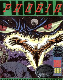 Box cover for Phobia on the Commodore 64.