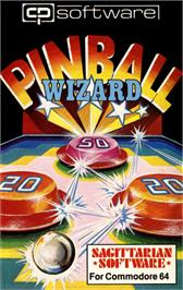 Box cover for Pinball Wizard on the Commodore 64.