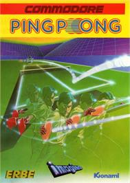 Box cover for Ping Pong on the Commodore 64.