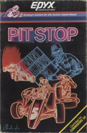 Box cover for Pitstop on the Commodore 64.