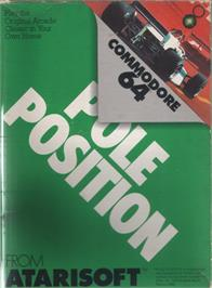 Box cover for Pole Position on the Commodore 64.