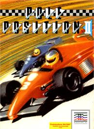 Box cover for Pole Position II on the Commodore 64.