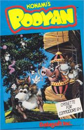 Box cover for Pooyan on the Commodore 64.