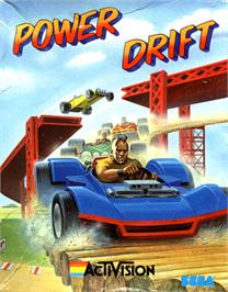 Box cover for Power Drift on the Commodore 64.