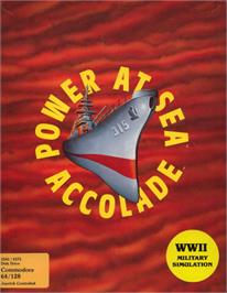 Box cover for Power at Sea on the Commodore 64.