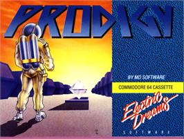 Box cover for Prodigy on the Commodore 64.