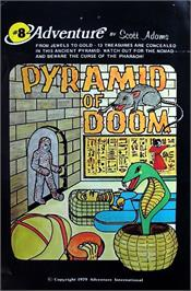 Box cover for Pyramid of Doom on the Commodore 64.