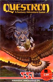 Box cover for Questron on the Commodore 64.