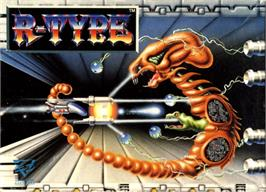 Box cover for R-Type on the Commodore 64.