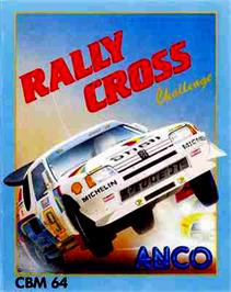 Box cover for Rally Cross Challenge on the Commodore 64.