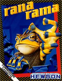Box cover for Rana Rama on the Commodore 64.