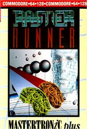 Box cover for Raster Runner on the Commodore 64.