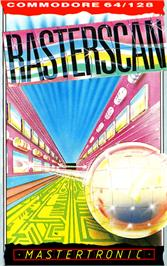 Box cover for Rasterscan on the Commodore 64.