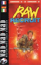 Box cover for Raw Recruit on the Commodore 64.