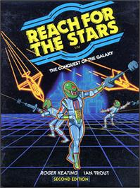 Box cover for Reach for the Stars on the Commodore 64.