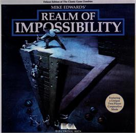 Box cover for Realm of Impossibility on the Commodore 64.