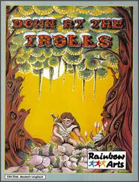 Box cover for Realm of the Trolls on the Commodore 64.