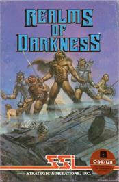 Box cover for Realms of Darkness on the Commodore 64.