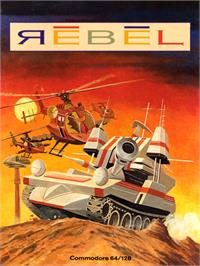 Box cover for Rebel on the Commodore 64.