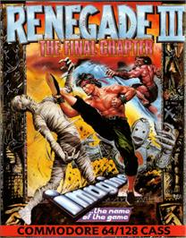 Box cover for Renegade III: The Final Chapter on the Commodore 64.