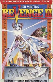 Box cover for Return of the Mutant Camels on the Commodore 64.
