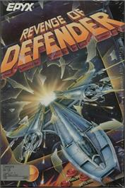 Box cover for Revenge of Defender on the Commodore 64.