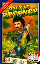 Box cover for Rigel's Revenge on the Commodore 64.