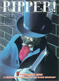 Box cover for Ripper! on the Commodore 64.