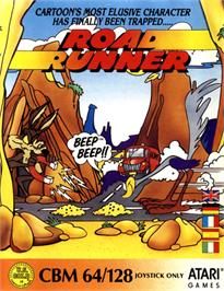Box cover for Road Runner on the Commodore 64.