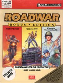 Box cover for Roadwar 2000 on the Commodore 64.