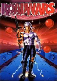 Box cover for Roadwars on the Commodore 64.
