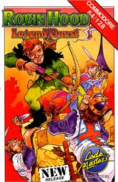 Box cover for Robin Hood: Legend Quest on the Commodore 64.