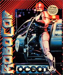 Box cover for RoboCop on the Commodore 64.