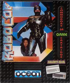 Box cover for RoboCop 3 on the Commodore 64.