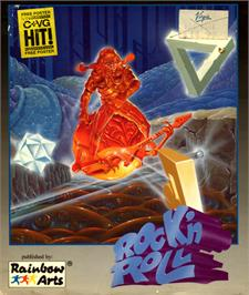 Box cover for Rock 'n Roll on the Commodore 64.