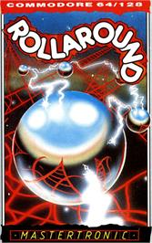 Box cover for Rollaround on the Commodore 64.