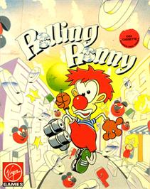 Box cover for Rolling Ronny on the Commodore 64.