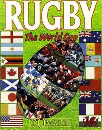 Box cover for Rugby: The World Cup on the Commodore 64.