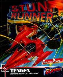 Box cover for S.T.U.N. Runner on the Commodore 64.