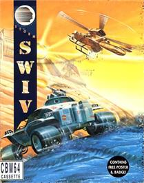 Box cover for S.W.I.V. on the Commodore 64.