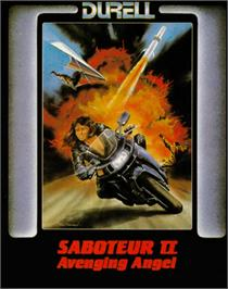 Box cover for Saboteur II on the Commodore 64.