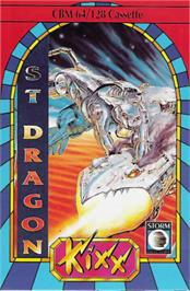 Box cover for Saint Dragon on the Commodore 64.